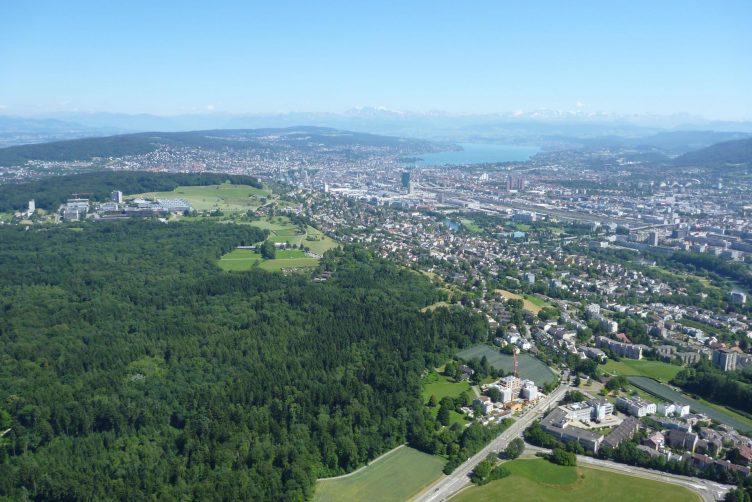 Helikopterflug von Zürich Flughafen