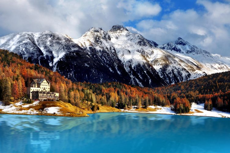 VIP Helikopterflug von Zürich nach St. Moritz