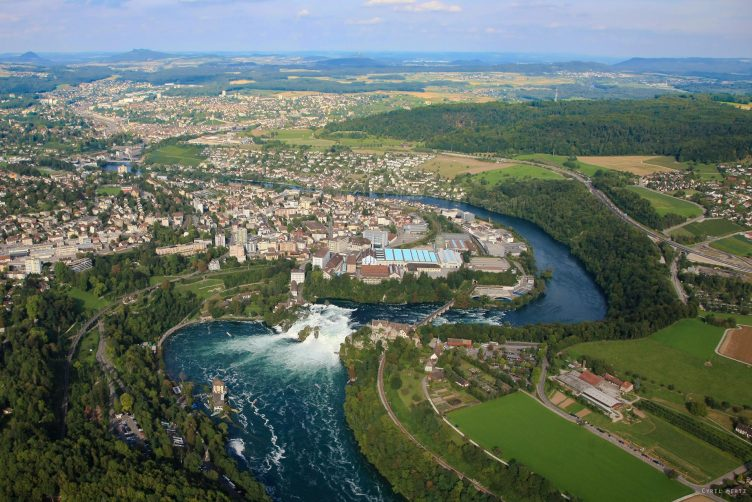 Helikopter Rundflug zum Rheinfall