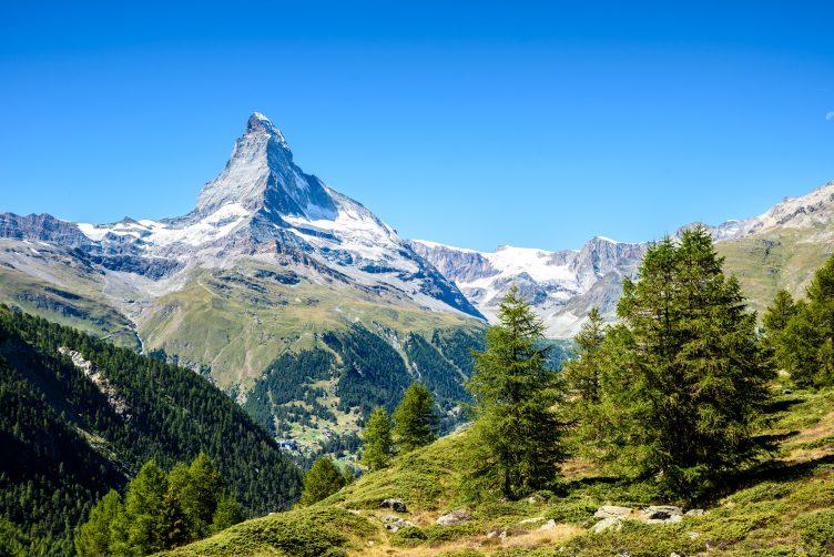 Helikopterflug von Zürich zum Matterhorn