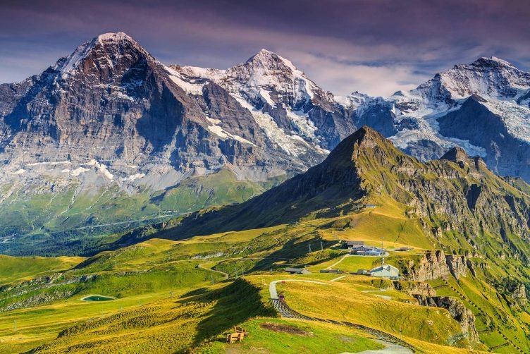 Helikopterflug von Zürich zu Eiger, Mönch und Jungfrau