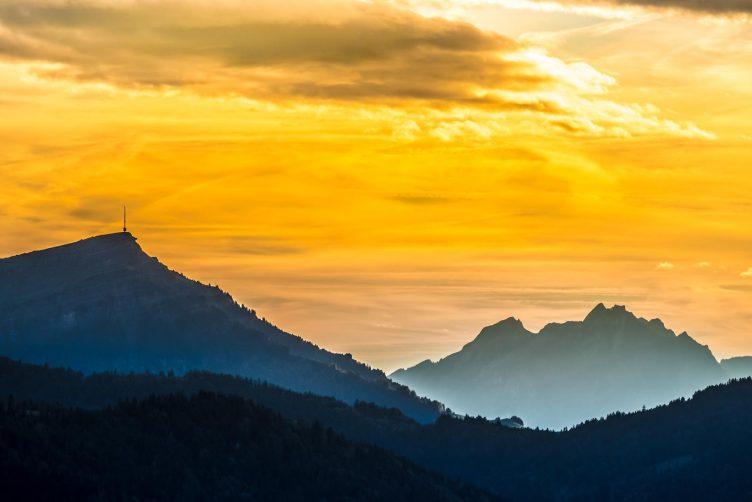 Helikopterflug von Zürich in die Zentralschweiz