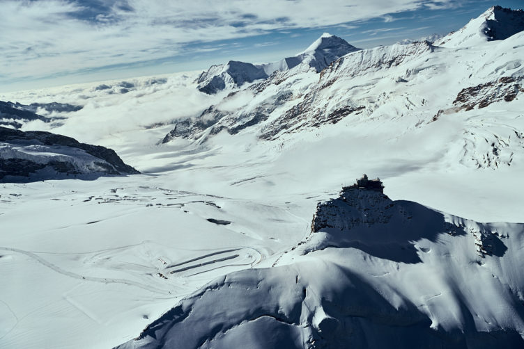 Helikopterflug von Zürich zum Jungfraujoch