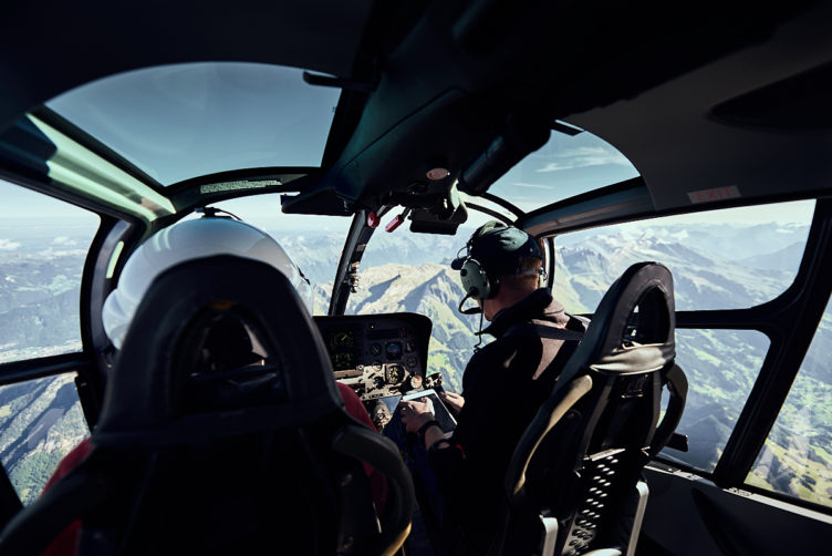 Gebirgsausbildung mit dem Helikopter