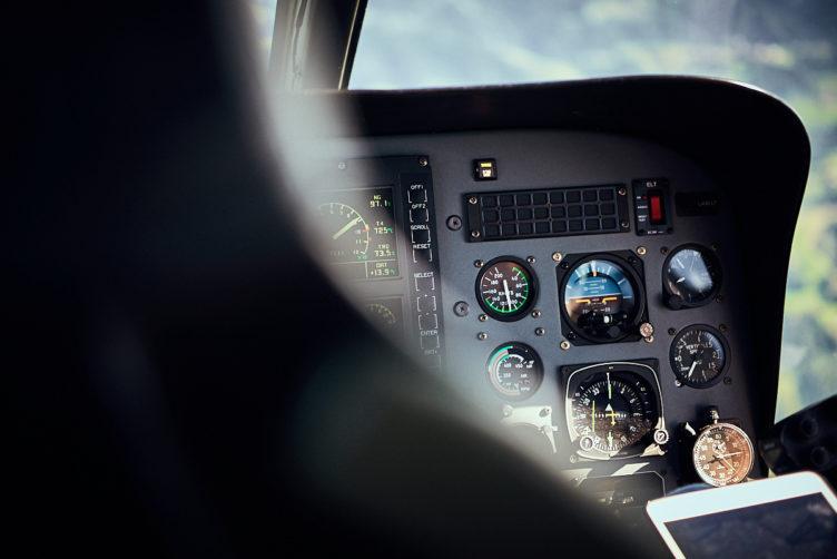 Helikopterflug vom Flughafen Zürich
